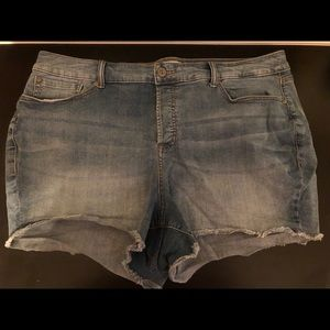 Torrid 3.5 Hidden Buttonfly Shorts